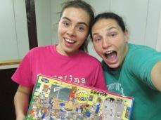 The puzzle conquerors